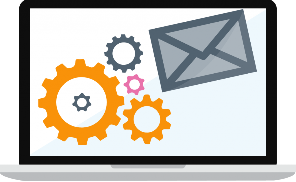 email marketing screen