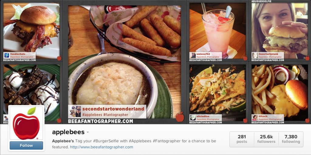 applebee screenshot